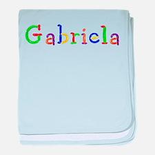 Gabriela Balloons baby blanket
