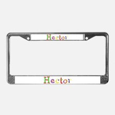 Hector Balloons License Plate Frame