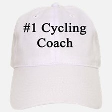 #1 Cycling Coach  Baseball Baseball Cap