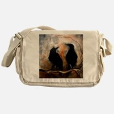 Black Birds Messenger Bag