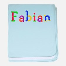 Fabian Balloons baby blanket