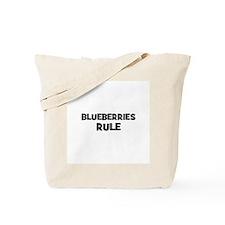 Unique Blueberry Tote Bag