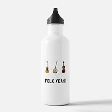 Folk Yeah Water Bottle