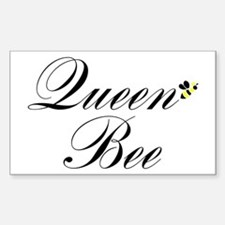 Queen Bee Rectangle Decal