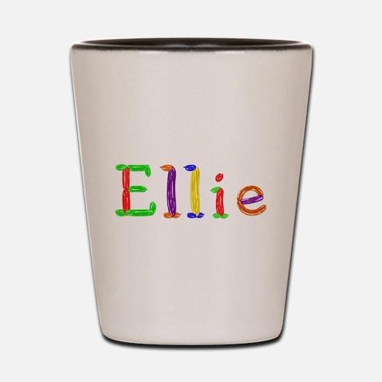 Ellie Balloons Shot Glass