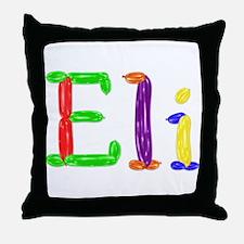 Eli Balloons Throw Pillow