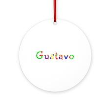 Gustavo Balloons Round Ornament