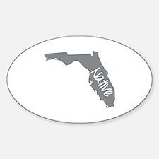 Unique Florida Sticker (Oval)