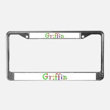 Griffin Balloons License Plate Frame