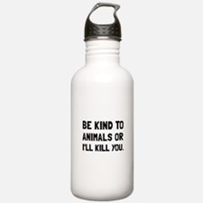 Kind To Animals Water Bottle
