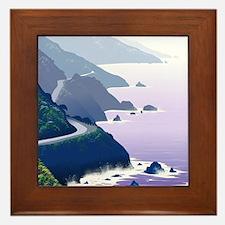 Unique Hollister california Framed Tile