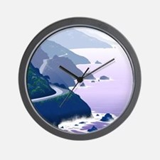 Funny Hollister california Wall Clock