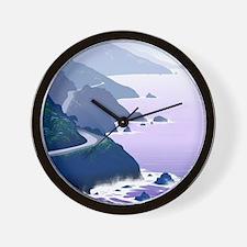Cute Coast Wall Clock