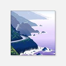"""Funny Coast Square Sticker 3"""" x 3"""""""