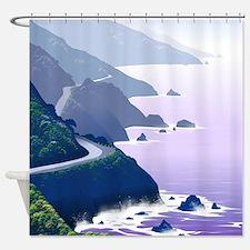Cute Hollister california Shower Curtain