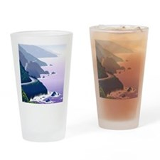 Funny Seascapes Drinking Glass