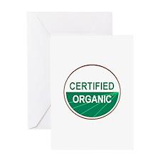 CERTIFIED ORGANIC Greeting Card