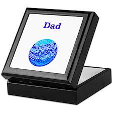 Dad Golf not Rolf Keepsake Box