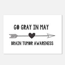 Go Gray in May Postcards (Package of 8)