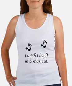 Live In Musical Tank Top