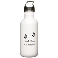 Live In Musical Water Bottle