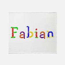 Fabian Balloons Throw Blanket