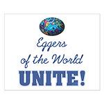 Eggers Unite! Small Poster
