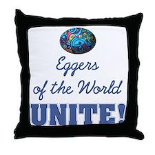 Eggers Unite! Throw Pillow
