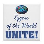 Eggers Unite! Tile Coaster