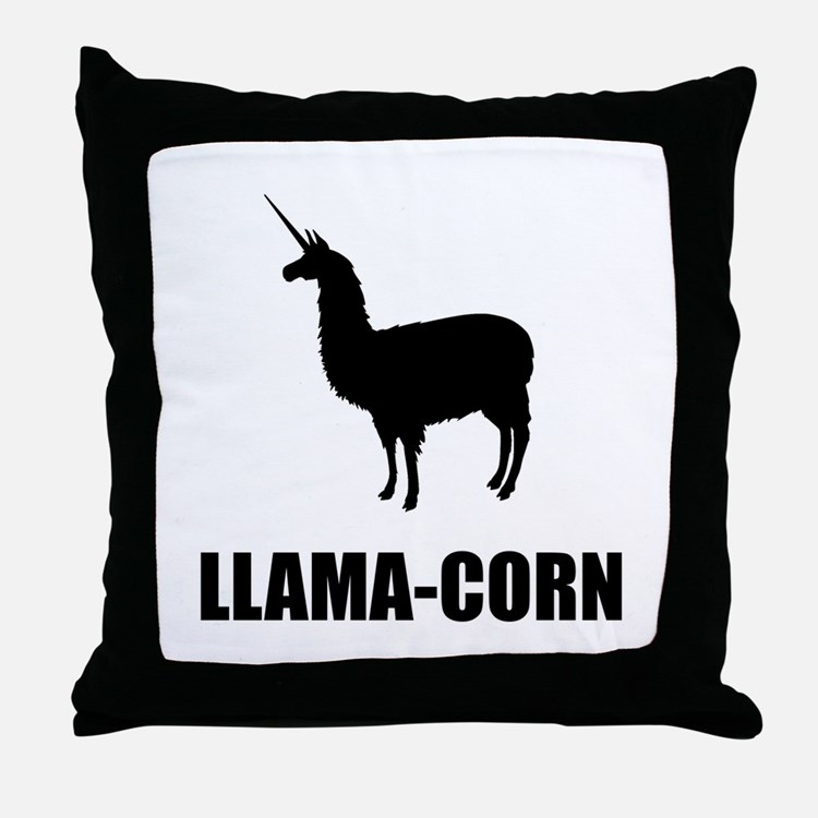 Llamacorn Pillows Llamacorn Throw Pillows Amp Decorative