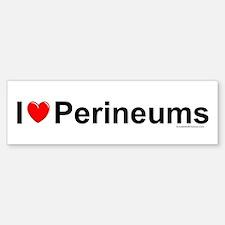 Perineums Bumper Bumper Sticker