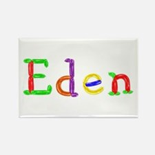 Eden Balloons Rectangle Magnet
