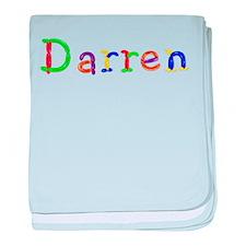 Darren Balloons baby blanket