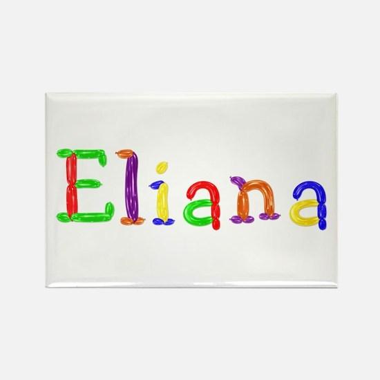 Eliana Balloons Rectangle Magnet