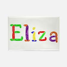 Eliza Balloons Rectangle Magnet
