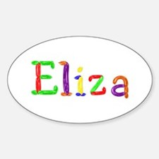 Eliza Balloons Oval Decal