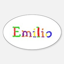 Emilio Balloons Oval Decal