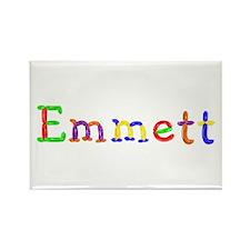 Emmett Balloons Rectangle Magnet