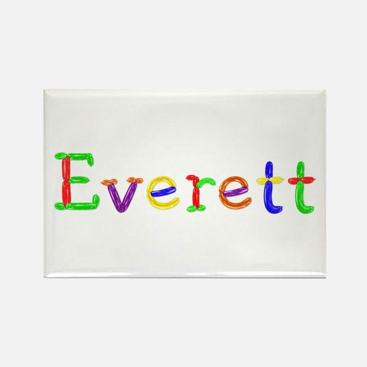Everett Balloons Rectangle Magnet