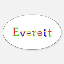Everett Balloons Oval Decal