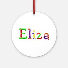 Eliza Balloons Round Ornament