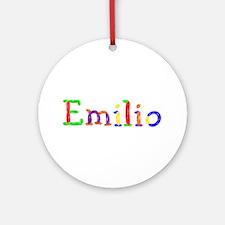 Emilio Balloons Round Ornament