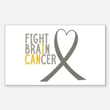 I Fight Brain Cancer Decal