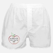 An Apple a Day Boxer Shorts