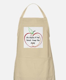 An Apple a Day BBQ Apron