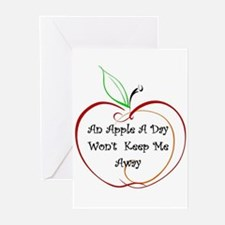 An Apple a Day Greeting Cards (Pk of 10)