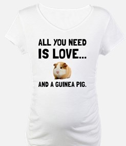 Love And A Guinea Pig Shirt