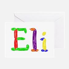 Eli Balloons Greeting Card