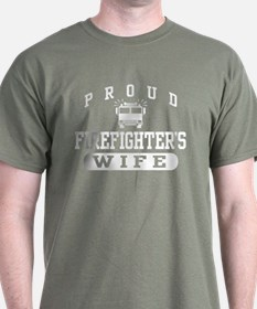 Proud Firefighter's Wife T-Shirt