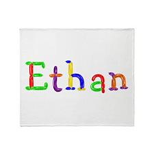 Ethan Balloons Throw Blanket
